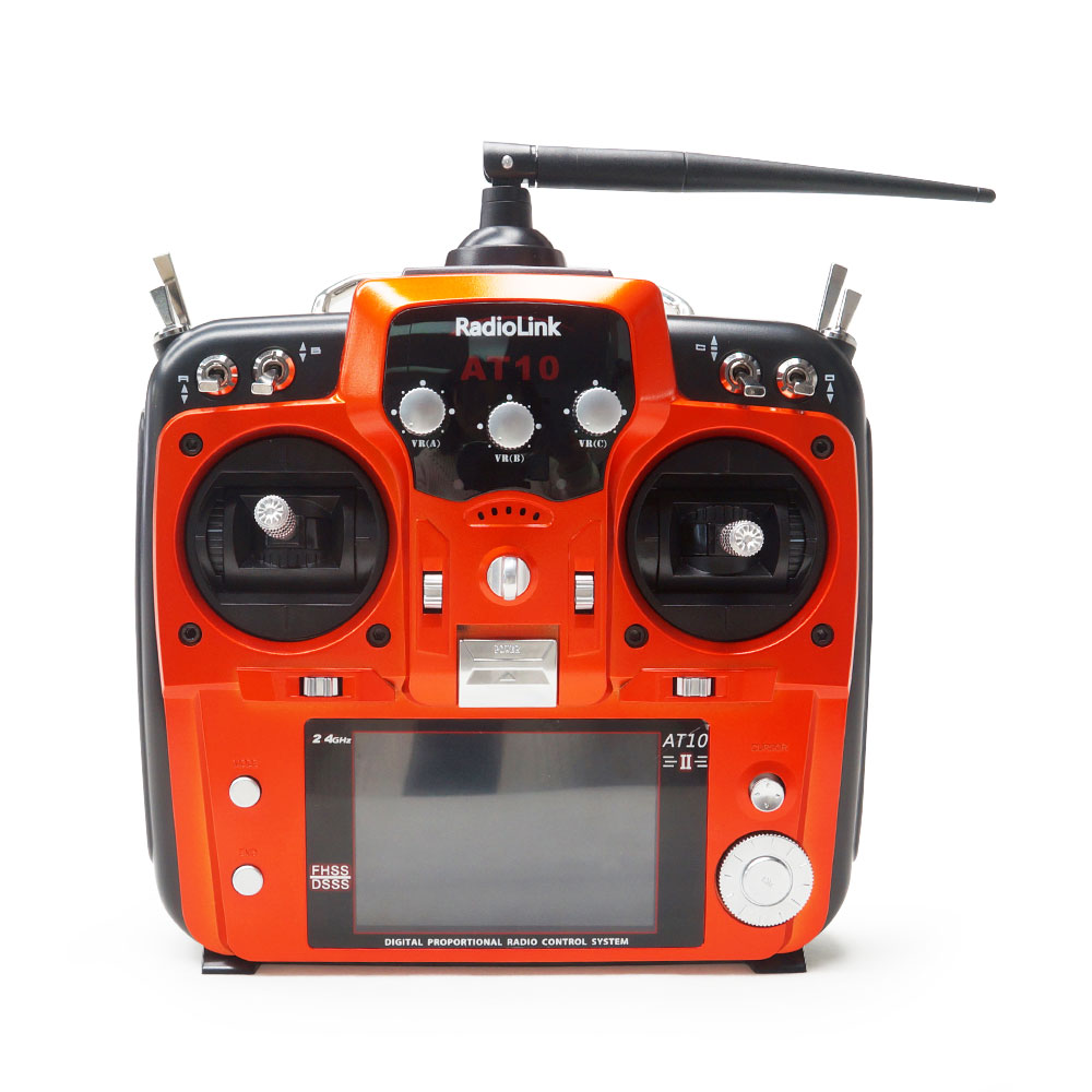 Radiolink AT10II 2.4G 12CH Transmitter With R12DS Receiver
