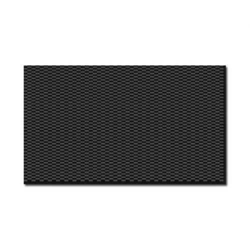 ARRIS 400X500X3MM 100% 3K Plain Weave Carbon Fiber Sheet Laminate Plate Panel 3mm Thickness (Glossy Surface)