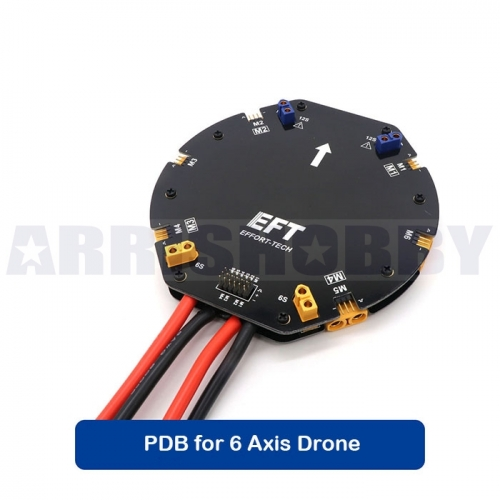 12S 480A High Current PDB Power Distribution Board for 6 Axis Agriculture Drones