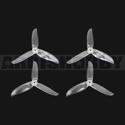 ARRIS 5045 PRO 3-blade Durable Propeller Blade for FPV Racing Drones (Transparent)