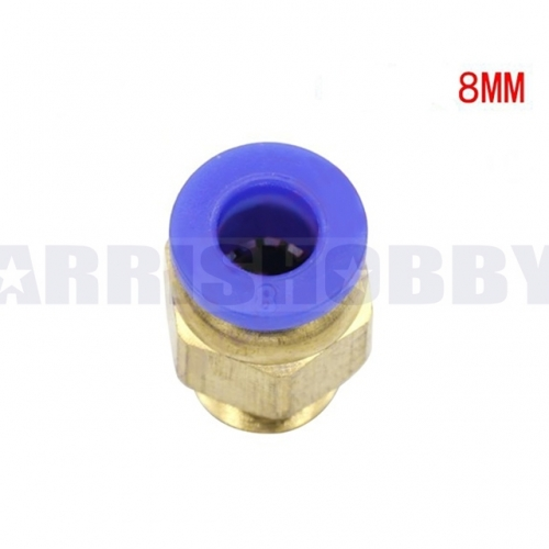 Quick Release Nozzle Adaptor for 8MM Water Pipe