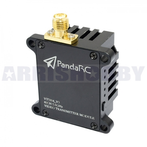PandaRC VT5804 V3 1W 5.8G 40CH Power Switchable Long Range FPV Video Transmitter