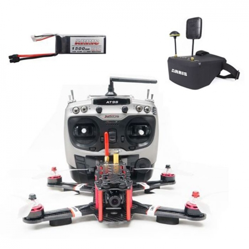 ARRIS X-Speed 250B FPV Racing Drone RTF with EV800D Goggle with 2 Battery