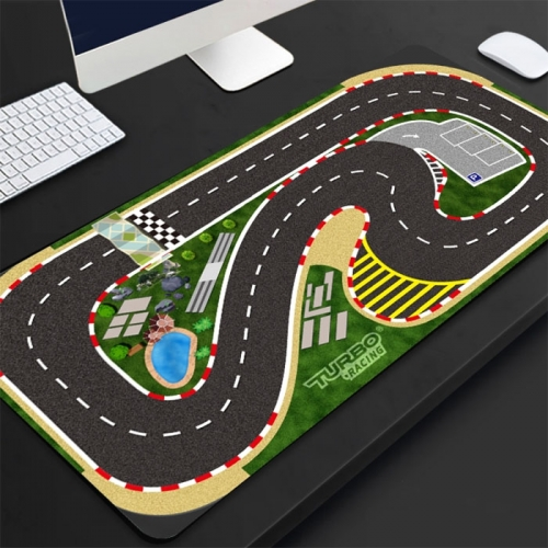 Turbo Racing 1:76 Scale Remote Control Car - Racing Track