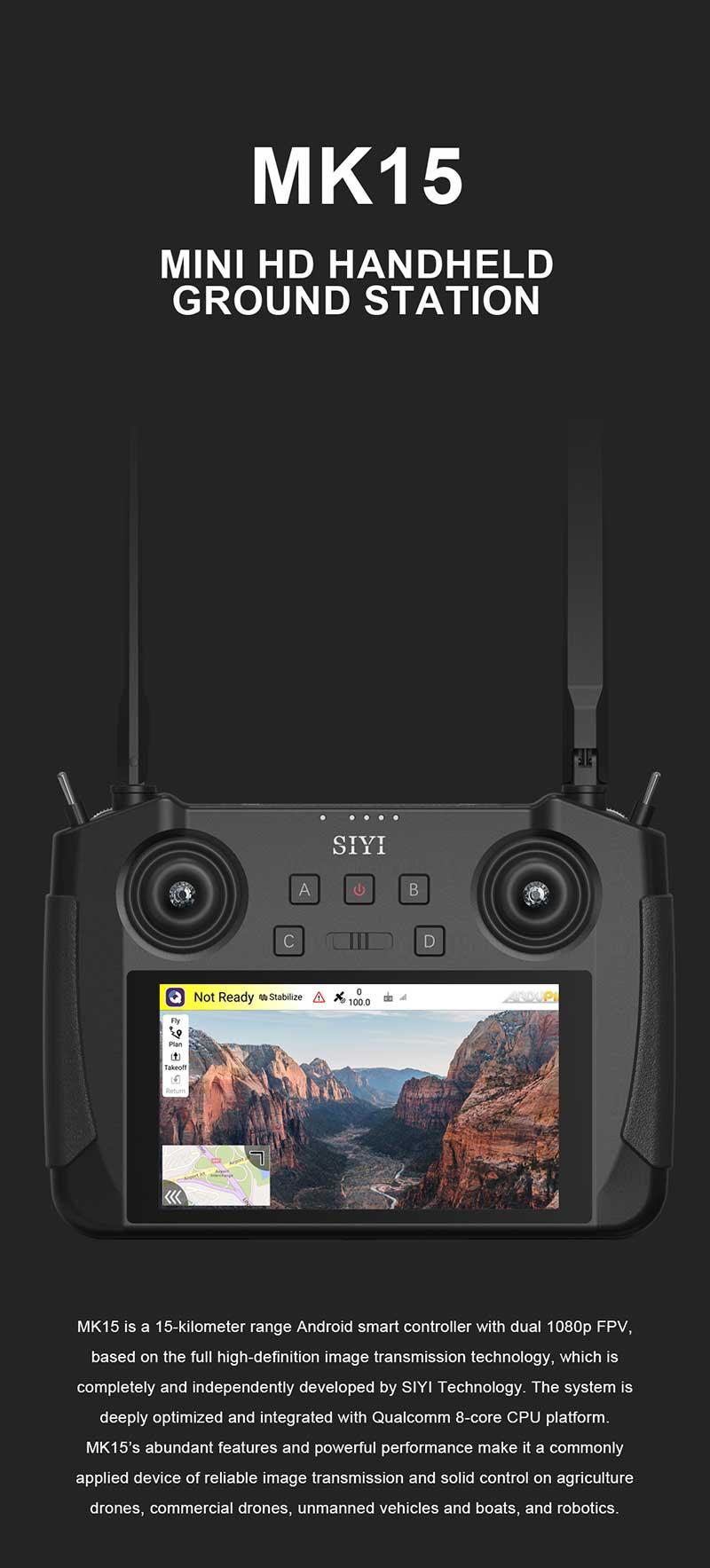 SIYI MK15 Long Range HDMI Transmission Radio